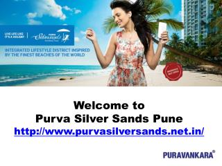 Purva Silver Sands - New Housing Project Mundhwa Pune
