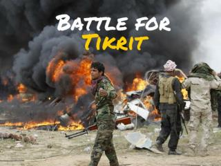 Battle for Tikrit