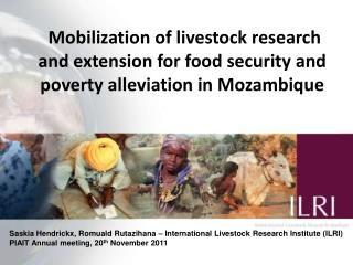 Mobilization of livestock research and extension for food security and poverty alleviation in Mozambique