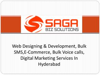 Responsive Web Designing Services in Hyderabad - Saga Biz So