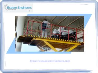 Manufacturer Of High Quality Hydraulic Goods Lifts