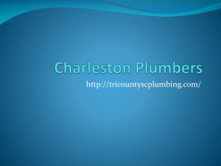 Plumbers Summerville SC