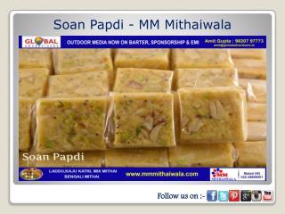Soan Papdi - MM Mithaiwala