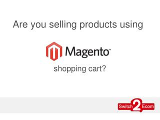 Magento Product Listing Services