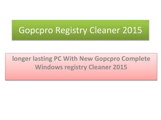 Registry Cleaner Expert 2015