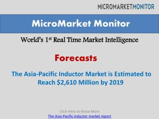 The Asia-Pacific inductor market report