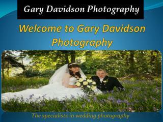 Wedding Photographers Glasgow - Gary Davidson Photography