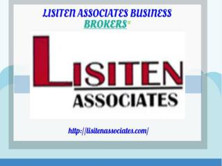 Business Broker | LISITEN ASSOCIATES BUSINESS BROKERS