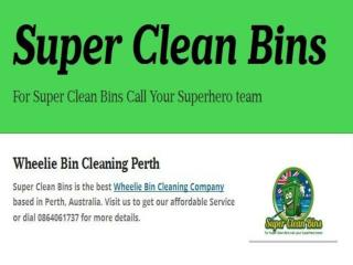 Bin Cleaning Perth
