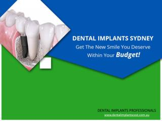 Affordable and High Quality Dental Implants in Sydney & Melb