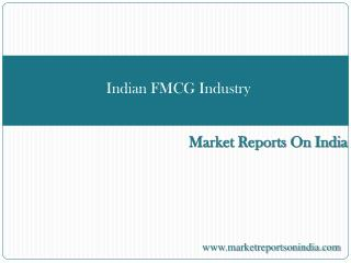 Indian FMCG Industry