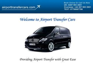 Airport Transfer Cars
