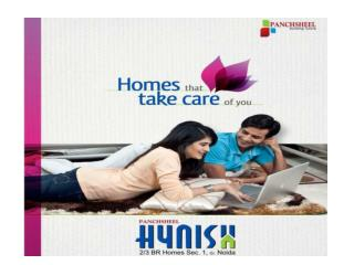 Panchsheel Hynish - A Well Constructed Project in Gr Noida