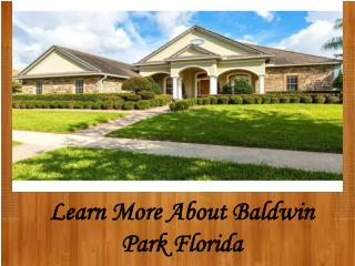 Baldwin Park Realtor