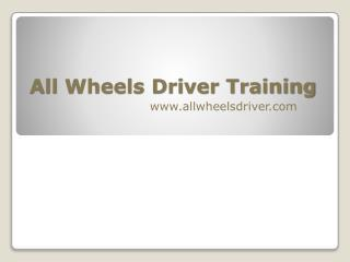 high quality driving instruction from our experienced team