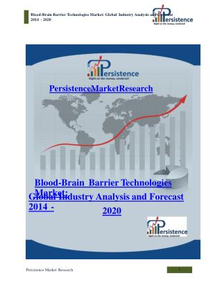 Blood-Brain Barrier Technologies Market