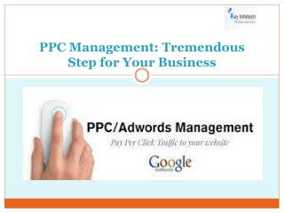 PPC Management-Tremendous Step for Your Business