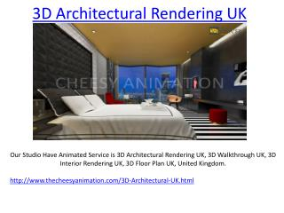 3D Architectural Rendering UK