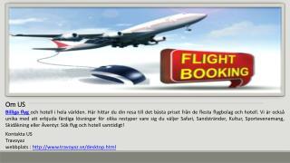 Letar du efter Billiga Flyg Biljetter - BesökTravoyaz.se