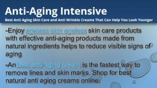 Ageless beauty skin care products