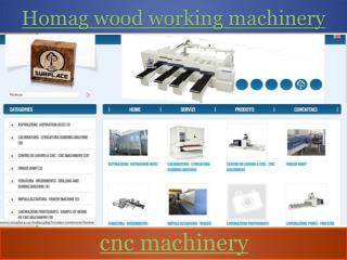 Homag wood working machinery