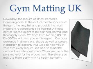 Gym Matting UK