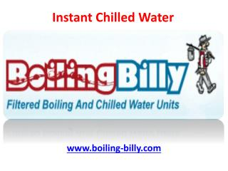 Instant Chilled Water - Australian Service Agents