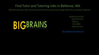 Find Your Admission Counselor job in Bellevue