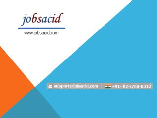 BPO Jobs in Noida