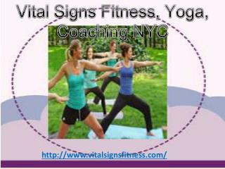 Personal Trainer NYC - Vital Signs Fitness