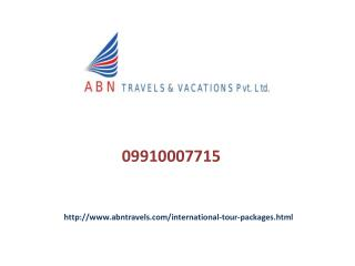 International Tour Packages In Noida