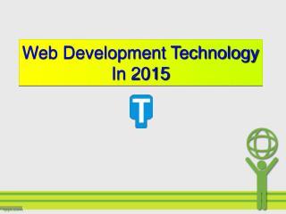Web Development Technology In 2015