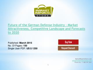German Defense Industry Trends & Future outlook
