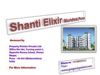 Flats in Mundwa Pune - Shanti Elixir - PropertyPointer.COM