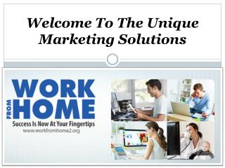Work From Home Irvine