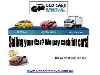 Car Removal Services in Melbourne