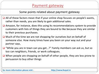 There Is Lots Of steps related payment gateway