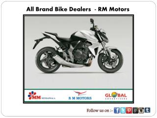 All Brand Bike Dealers - RM Motors