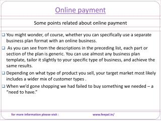 The Best Timing to pay fee by online payment