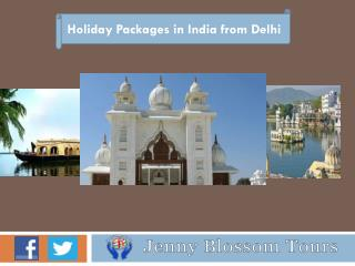 Travel Packages from Delhi