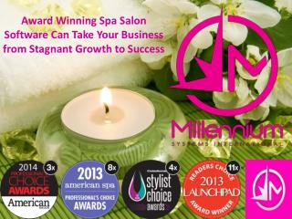 Award Winning Spa Salon Software Can Take Your Business from