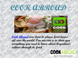 Argentina Private Cooking Classes