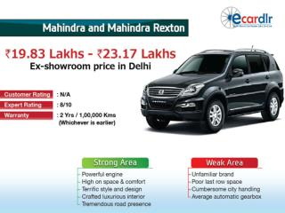 Mahindra and Mahindra Rexton Prices, Mileage, Reviews and Im