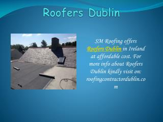 Repair your roofs with Roofing Contractor Dublin