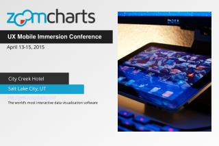 ZoomCharts for UX Mobile Immersion Conference in Salt Lake