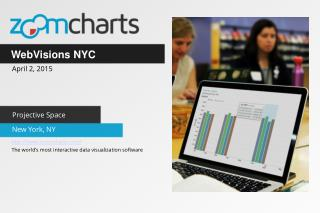 ZoomCharts for WebVisions NYC in New York NY