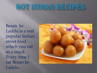 Besan ke Laddu - Hot Indian Recipes