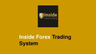 Inside Forex Trading