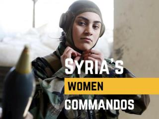 Syria's women commandos