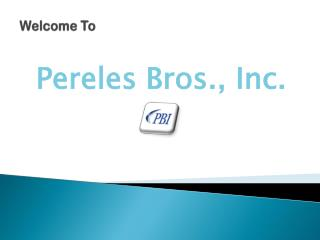 Pereles Bros., Inc.